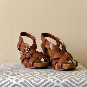 Cato Strappy Wedges